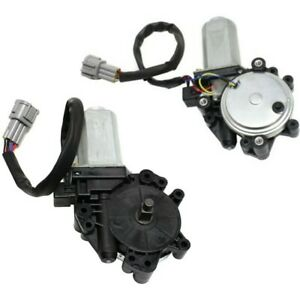 Window Motor For 2004 09 Nissan Quest W Gear anti clip Function Front Lh