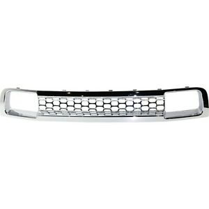 New Bumper Face Bar Grille For Gmc Sierra 2500 Hd Heavy Duty Gm1036166 25832387