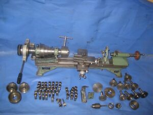 Schaublin Lathe 102 Accessories