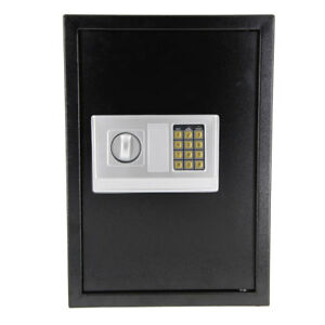 19 68 X 13 78 X 11 81 Safe Security Box Digital Safe Box Black Security Box