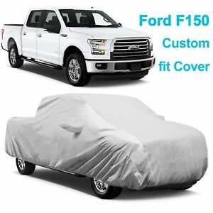 6 Layers Waterproof Truck Pickup Car Cover Custom For Ford F 150 Anti theft Lock
