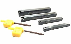 Indexable Lathe Turning Tool Holders With Key Set Of Above 4 Tools