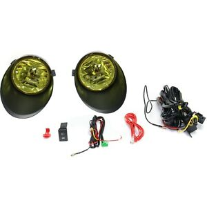 Fog Light Kit For 2007 2013 Toyota Tundra Lh Rh Yellow Lens