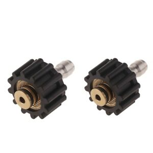 2pcs High Pressure Washer Spray Nozzle Tips Multiple Degrees 1 4inch