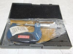 Spi Mechanical Point Micrometer 0 25mm Range 0 01mm Graduation 12 399 2