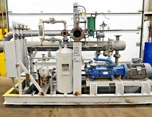 Mo 2528 Graham Ejector Liquid Ring Vacuum Pump Condenser Separation System