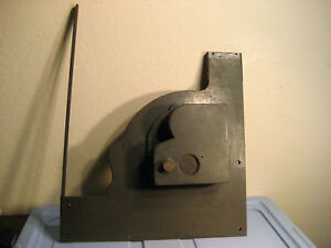 Right Side Cover 1930 Antique National Cash Register Single Counter 728 Steel