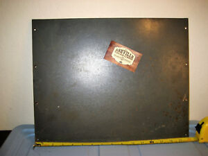 Bottom Cover 1930 Antique National Cash Register Single Counter 728 Steel 15