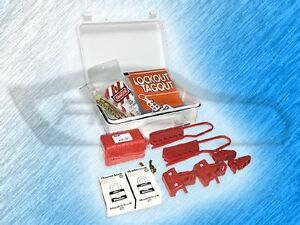 Northern Safety Economical Lock out Tagout loto Safety Kit 3040