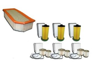 1 Air Filter 3 Oil Filters 3 Fuel Filter Kits For Ford 6 0l E Series Only