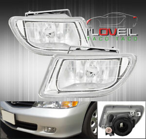 1999 2004 Honda Odysseyreplacement Driving Fog Lights Clear Lamps H1 8k Hid