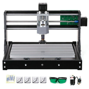 Cnc3018 Diy Router Kit 2in1 Laser Engraving Machine Grbl Control 3 Axis 5500mw