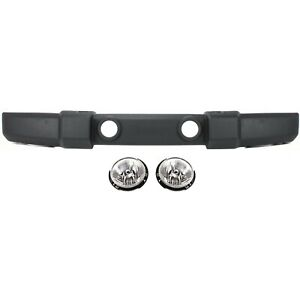 Bumper Cover For 2007 17 Jeep Wrangler Front Standard Duty Bumper Cover