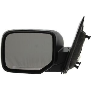 Power Mirror For 2009 2015 Honda Pilot Driver Side Heated Textured Black