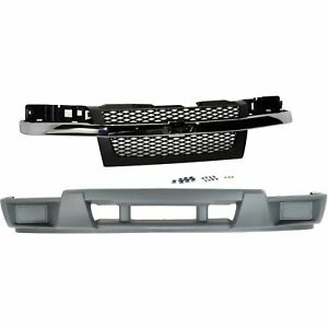 Bumper Cover Kit For 2004 2012 Chevrolet Colorado Front