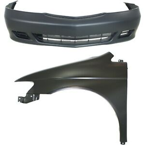 New Auto Body Repair Kit Front For Honda Odyssey 1999 2004