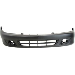 Front Bumper Cover For 2000 2002 Chevy Cavalier W Fog Lamp Holes Primed