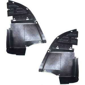 New Air Dam Deflector Valances Set Of 2 Front Driver Passenger Side Chevy Pair