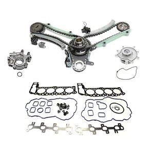 Timing Chain Kit For 2002 Dodge Ram 1500 W Water Oil Pump