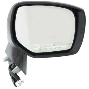 New Mirror Passenger Right Side Heated Rh Hand For Subaru Forester 91036sg372