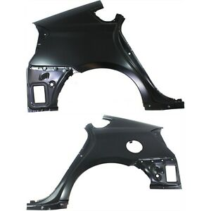 Quarter Panel For 2010 2012 Toyota Prius Set Of 2 Left And Right Outer