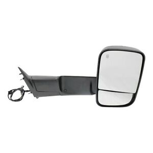 Tow Mirror For 2013 2018 Ram 2500 Right Side Power Fold Heat Signal Puddle Light