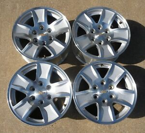 2000 2018 Silverado Suburban Tahoe 17 Factory Alloy Wheels 5657