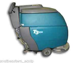 Reconditioned Tennant T3 Disk 20 Floor Scrubber W Ec h2o Traction Drive