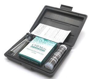New Chemetrics K 7540 Dissolved Oxygen Test Kit K7540