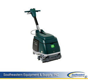 New Nobles Speed Scrub 15 Battery Cylindrical Scrubber w Agm Batteries