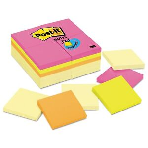 Post it Notes Original Pads Value Pack 3 X 3 Canary Yellow With Cape Town