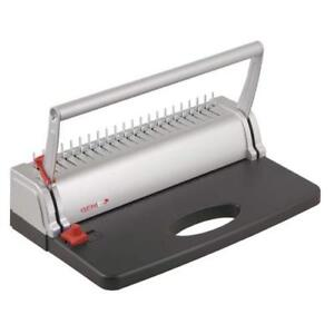 Genie Cb 800 Spiral Binding Machine Up To 145 Pages Din A4 With Plastic Binding