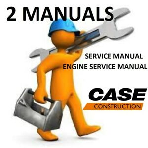 Case 580 590 Super L Backhoe 2 Manuals Service And Engine Repair Pdf