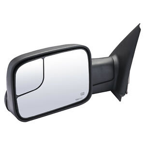 Towing Mirror For 2002 2008 Dodge Ram 1500 2500 3500 Driver Side Power Heated Lh