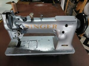 Singer 111w155 Industrial Walking Foot Sewing Machine head Only