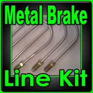 Complete Metal Brake Line Kit Ford Mercury 1939 Thru 76 replace Corroded Lines