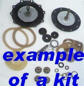Custom Built Unleaded Fuel Pump Rebuild Kit double Type Ford 1949 66