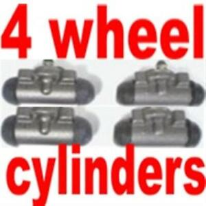 4 Wheel Cylinders Ford Truck F100 1955 1960 1965 1967 Value Low