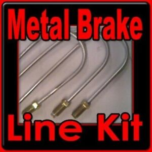 Brake Lines Hudson 1938 1939 1941 1945 1940 1946 1947 Replace Corroded Lines