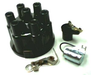 Ignition Tune Up Kit Chevrolet 6 Cylinder 1953 1962 Points Condenser Cap Rotor