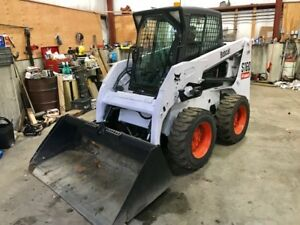 06 Bobcat S 160 Skidsteer Loader 56 Hp Diesel 966 Hrs 3rd Valve Heated Cab
