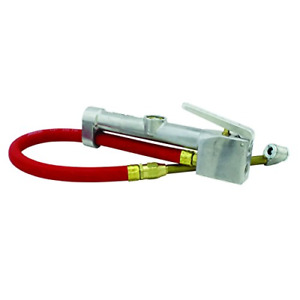 Milton S 506 Inflator Gauge Dual Head Chuck With 15 Inch Air Hose Free Shipping