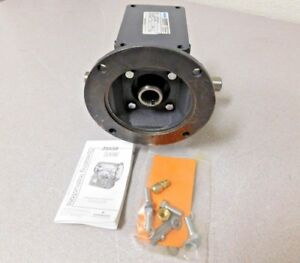 Morse Worm Gear Speed Reducer C face Quilled 20 1 Ratio 206q140lr20 Xe1145