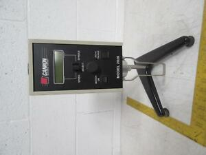 Cannon 2020lv115 Rotational Viscometer T81647