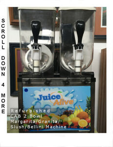 Spm 2 Bowl Margarita Granita Bellini Slush Machine