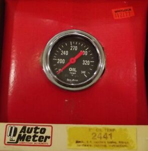 2 Inch Mechanical Oil Temperature Gauge Kit Autogage By Autometer 2441