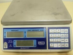 Uline H 1117 Industrial Parts Counting Scale 65 Lb Cap X 005 Res Sn A16103331