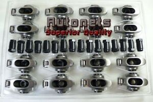 Ford Sbf Stainless Steel Roller Rockers Arm 1 6 3 8 289 302 351w Small Block