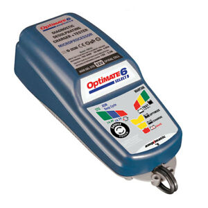 Tecmate Optimate 6 Select 12 Volt Charger For Starter And Deep Cycle Batteries