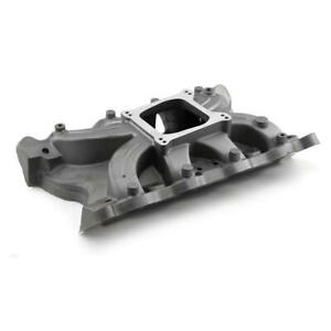 Speedmaster Intake Manifold Pce147 1080 Single Plane Natural Aluminum For Ford